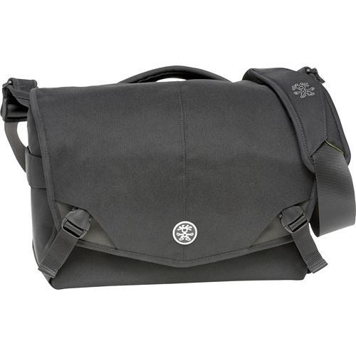 Crumpler 7 Million Dollar Home Camera Bag (Black with Gun Metal Gray Accents)