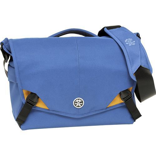 Crumpler 7 Million Dollar Home Camera Bag (Royal Blue with Orange Accents)
