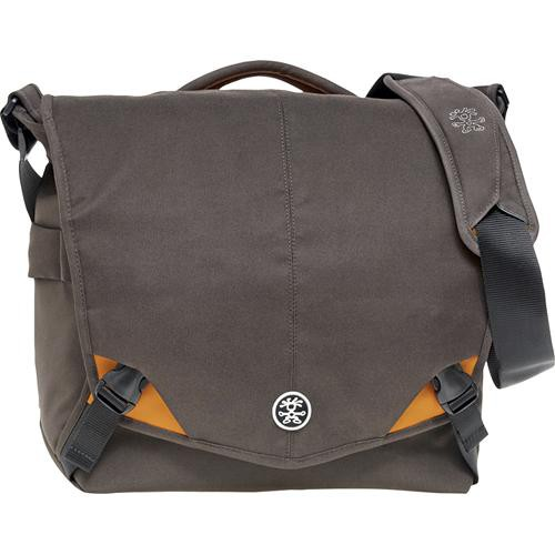 Crumpler 8 Million Dollar Home Bag (Brown with Orange Accents)