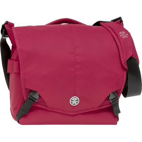 Crumpler 8 Million Dollar Home Bag (Red with Dark Red Accents)