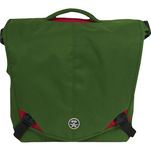 Crumpler 8 Million Dollar Home Bag (Olive with Red Accents)