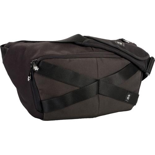 Crumpler Mild Enthusiast Sling Pack (Large, Black/Gunmetal)