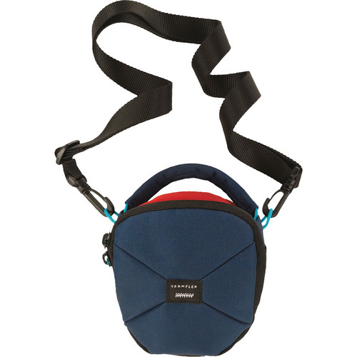 Crumpler Pleasure Dome Shoulder Bag (Small, Navy/Rust )