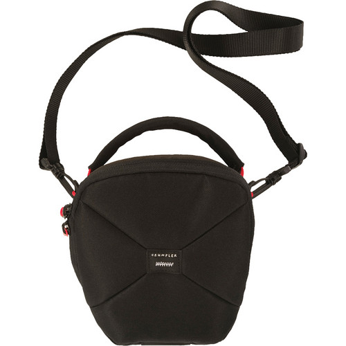 Crumpler Pleasure Dome Shoulder Bag (Medium, Black/Black)