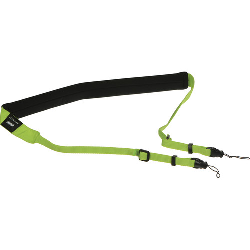 Crumpler Popular Disgrace Camera Strap (Black/Green)