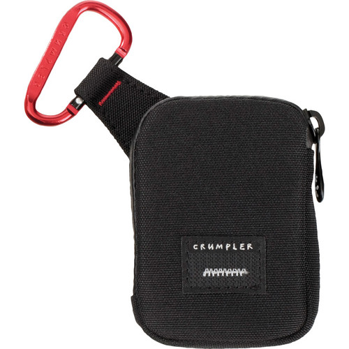 Crumpler Tuft Camera Pouch (Small, Black/Red)