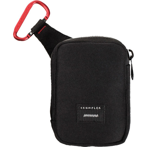 Crumpler Tuft Camera Pouch (Large, Black/Red)