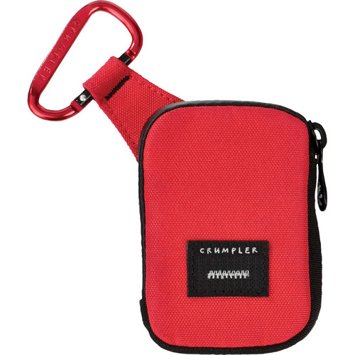 Crumpler Tuft Camera Pouch (Small, Red/Red)