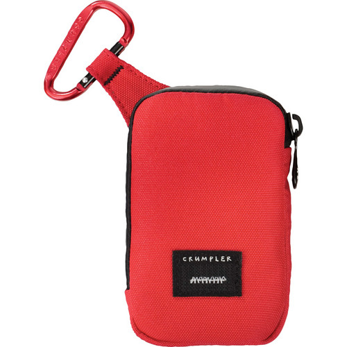 Crumpler Tuft Camera Pouch (Medium, Red/Red)