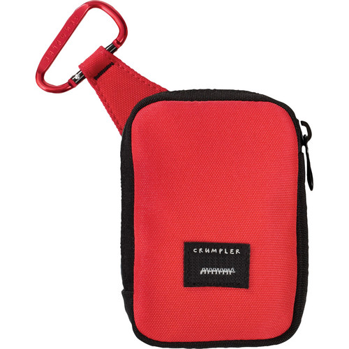 Crumpler Tuft Camera Pouch (Large, Red/Red)