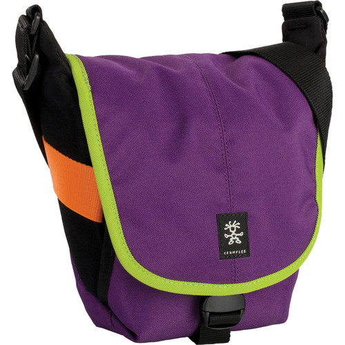 Crumpler 3 Million Dollar Home Bag (Purple/Olive Green)