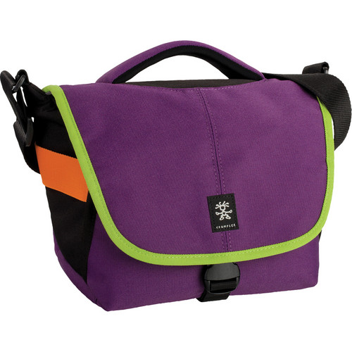 Crumpler 5 Million Dollar Home Bag (Purple and Olive Green)