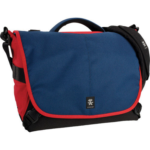 Crumpler 7 Million Dollar Home Camera Bag (Navy/Rust Red)