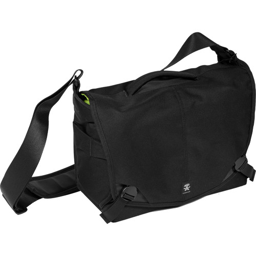 Crumpler 7 Million Dollar Home Camera Bag (Black/Gunmetal)