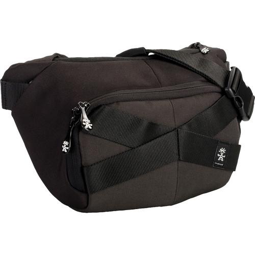 Crumpler Mild Enthusiast Sling Pack (Small, Black/Gunmetal)