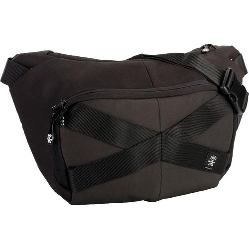 Crumpler Mild Enthusiast Sling Pack (Medium, Black/Gunmetal)
