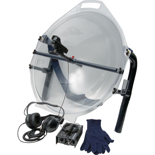 Crystal Partners Big Ears Parabolic Microphone Kit (Clear)