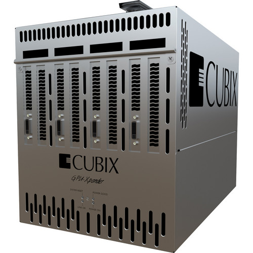 Cubix GPU-Xpander Desktop 4 with 4 PCI Express 16-Channel Slots