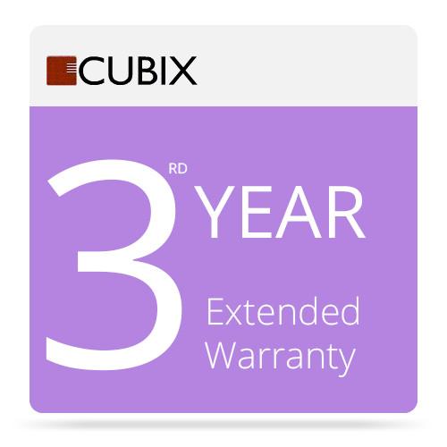 Cubix 3rd Year Extended Warranty for Series II Desktop