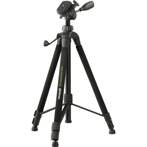 Cullmann Primax 190 3-Section Aluminum Tripod with 3-Way Head
