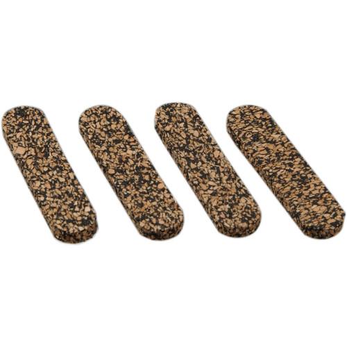 Custom Brackets Cork Strips for CB Jr. & C35 Series Camera Plates - Replacement (4 Strips)