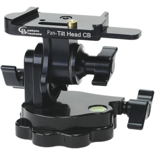 Custom Brackets Pan-Tilt Head With CB Quick Release