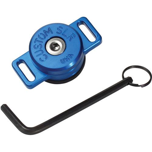 Custom SLR C-Loop HD Camera Strap Mount Solution (Blue)