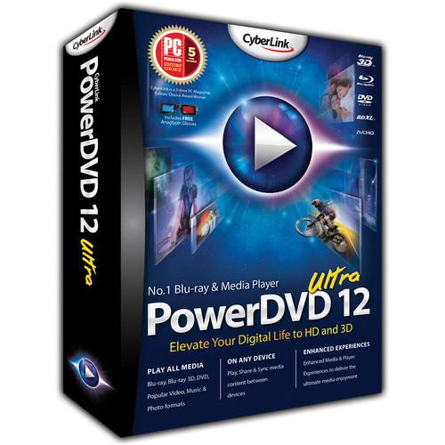 CyberLink PowerDVD 12 Ultra Media Player Software