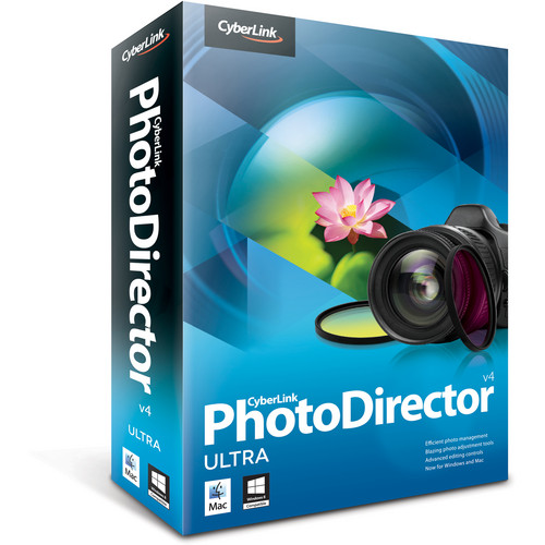 CyberLink PhotoDirector 4 Ultra Software (CD/DVD-ROM)
