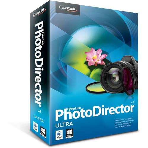 CyberLink PhotoDirector 4 Ultra Software (CD/DVD-ROM)