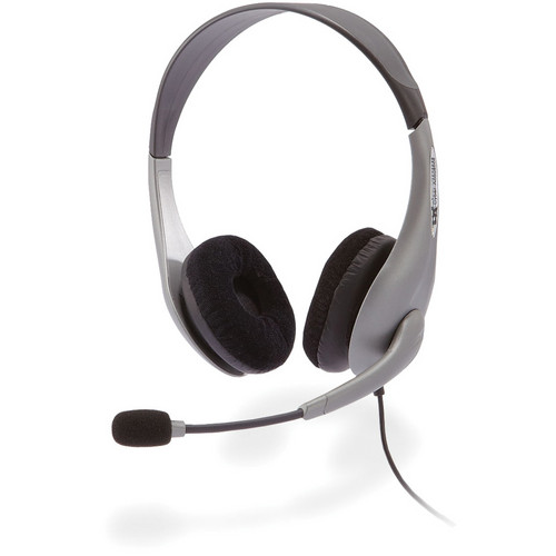 Cyber Acoustics AC-404 Stereo Headset and Boom Mic
