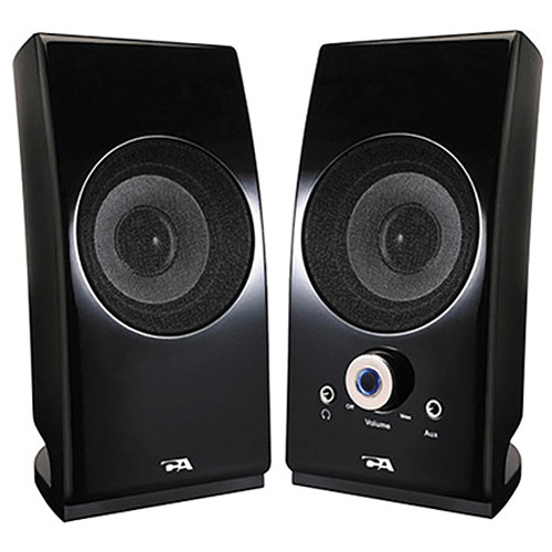 Cyber Acoustics CA-2022 2-Piece Desktop Speaker System