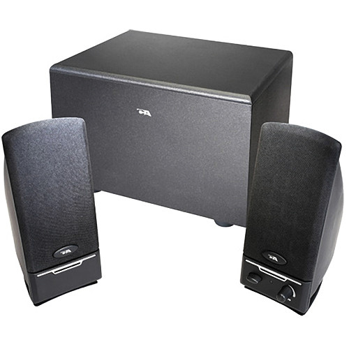 Cyber Acoustics CA-3001 3-Piece Subwoofer and Satellite Speaker System