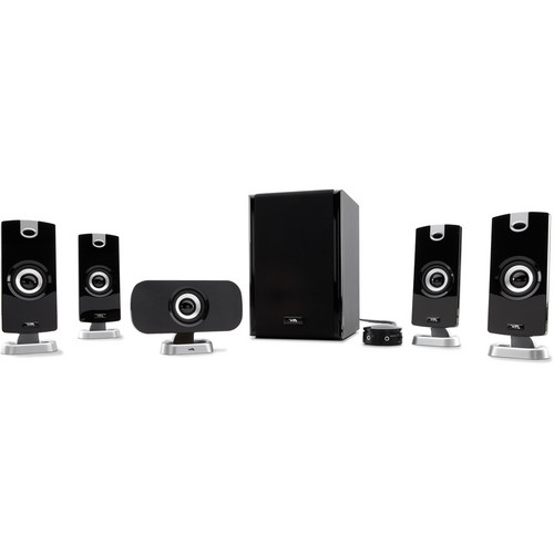 Cyber Acoustics CA-5402 5.1 Powered Speaker System