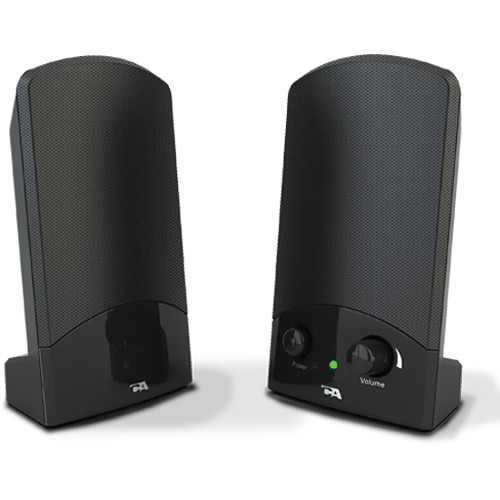 Cyber Acoustics CA-894 Portable 2-Piece 2.0 Speaker System