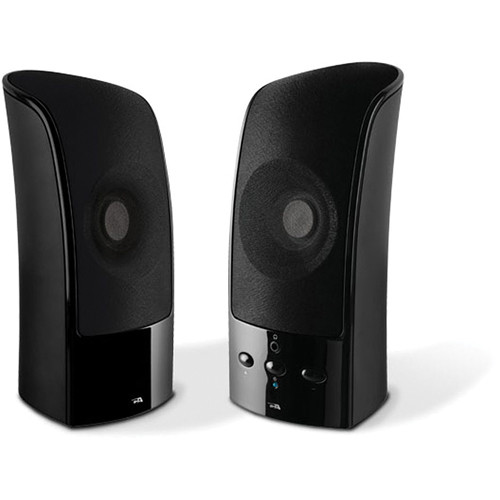 Cyber Acoustics CA-896 2-Piece Speaker System With USB Charging Input