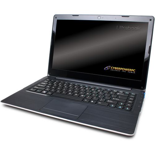 """CyberpowerPC Zeus M3 U3800 14.1"""" Ultrabook Computer"""