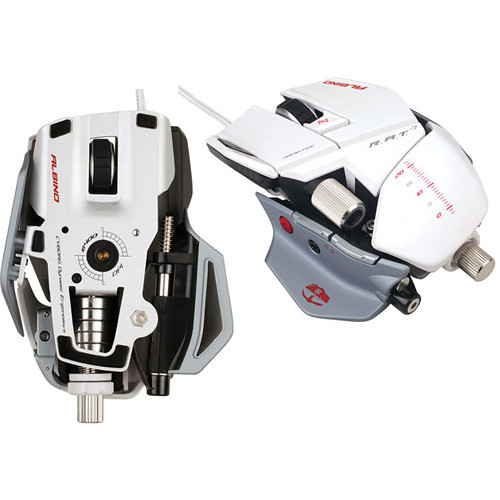 Cyborg R.A.T 7 Gaming Mouse - Albino Edition