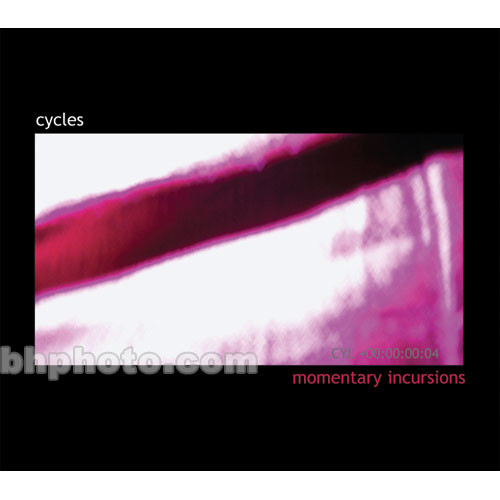 Cycling 74 Sample DVD: Cycles Vol. 04 - Momentary Incursions