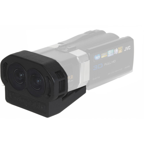 Cyclopital3D 11mm Wide Angle Adapter for JVC 3D Camcorders