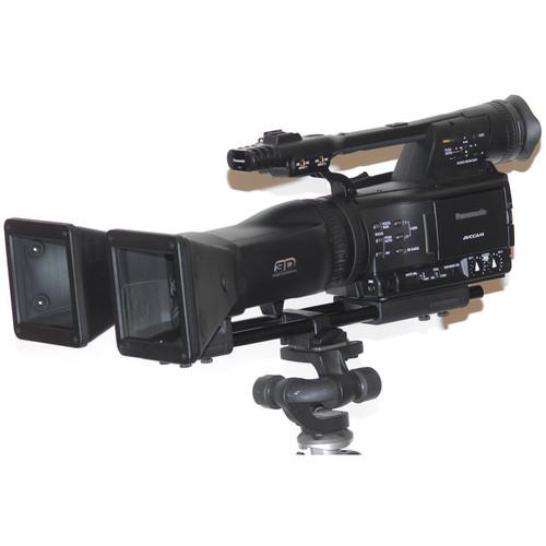 Cyclopital3D Stereo Base Extender for the Panasonic AG-3DA1