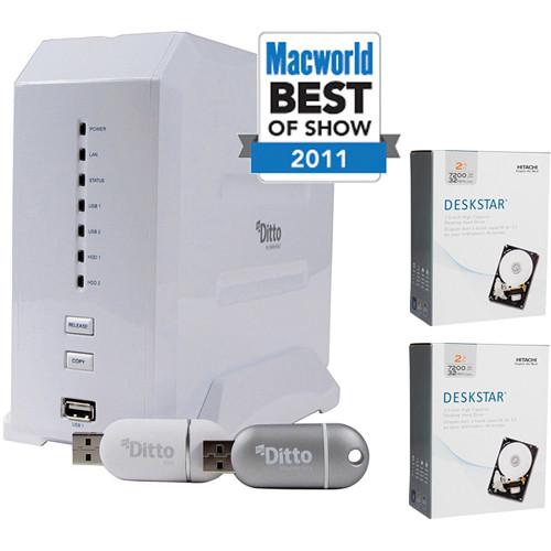 Dane-Elec 4TB (2x2TB) myDitto Home Network Key and Server Kit