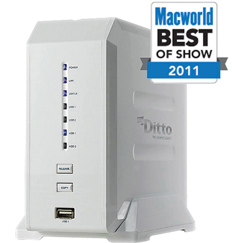 Dane-Elec 4TB (2x2TB) myDitto Home Network Key and Server