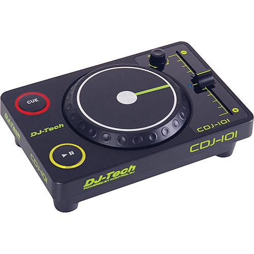 DJ-Tech CDJ-101 Mini USB CD-Style Controller