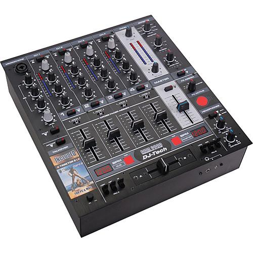 DJ-Tech DDM-3000 Professional 5-Channel DJ Mixer