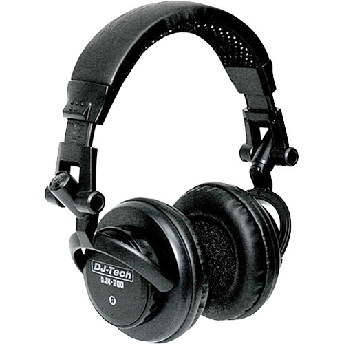 DJ-Tech DJH-200 On-Ear DJ Headphones