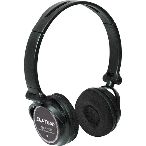 DJ-Tech DJH-555 USB DJ Headphone