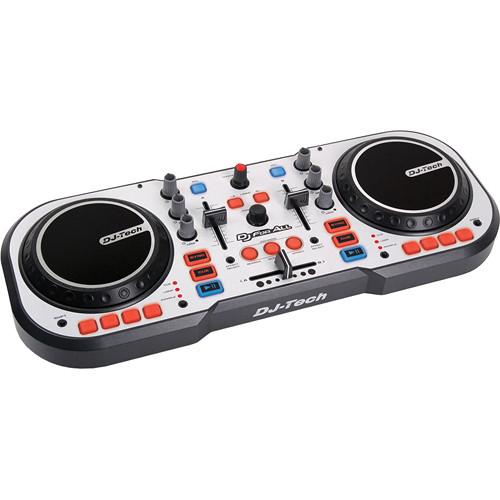 DJ-Tech DJ FOR ALL USB Controller & Software Package
