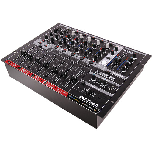 DJ-Tech DX 3000 USB Professional 7-Channel USB DJ Mixer