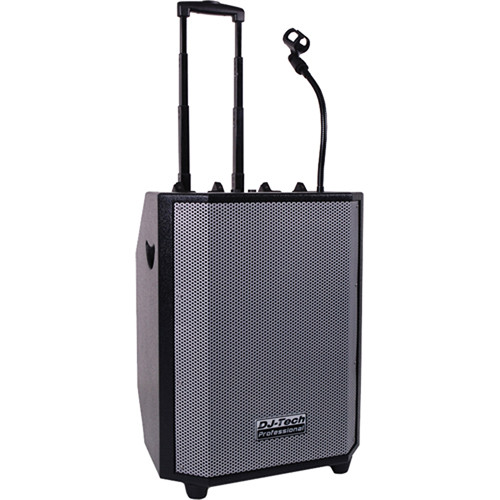DJ-Tech iBoost 101 Portable DJ PA System for iPods